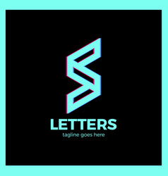 Super rate logo - letter s vector
