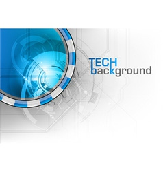 tech background wave vector image