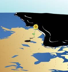 last flower vector image