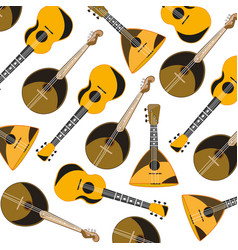music instruments pattern vector image