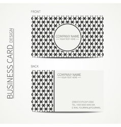 Vintage creative simple geometrical hipster vector image