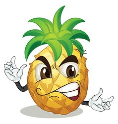 a pineapple vector image
