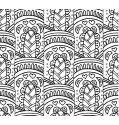 Abstract a seamless pattern vector