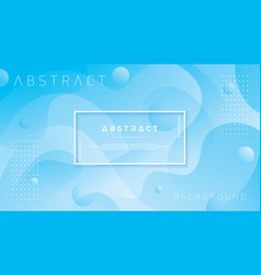 abstract blue liquid blue background vector image