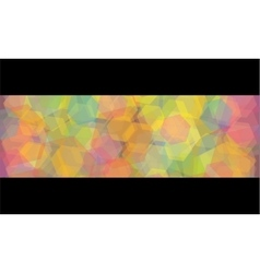 abstract kaleidoscope geometric background vector image