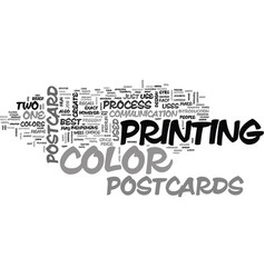are postcards worth their price text word cloud vector image