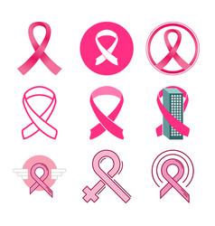 breast cancer awareness icon symbol design vector image
