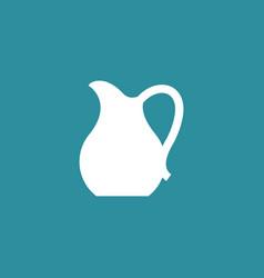 jug icon simple vector image