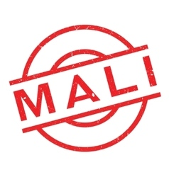 Mali rubber stamp vector image