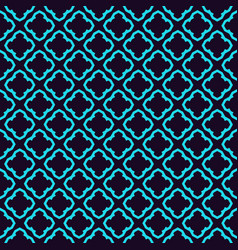 seamless geometric lines ornament pattern linear vector image