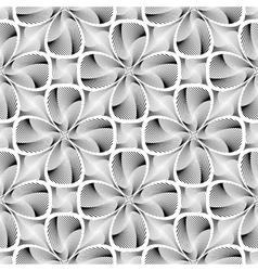 Design seamless decorative flower background vector image vector image