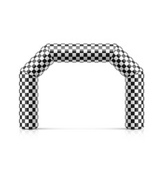 Inflatable finish line arch inflatable archway vector
