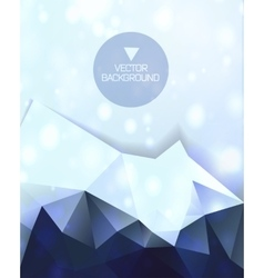 Abstract background abstract mountain vector image vector image