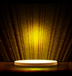 gold scene vector image vector image