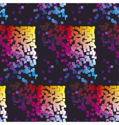 Modern colorful pattern with color square dynamic vector