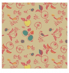 nature seamless pattern vector image vector image