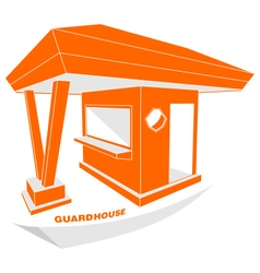 Guardhouse brand security guard logo vector