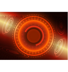 Abstract digital technology color background or vector