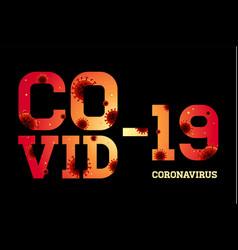 Coronavirus covid19 -19 wuhan danger mask vector