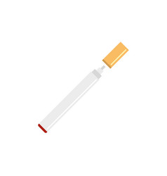 Electronical cigarette icon flat style vector