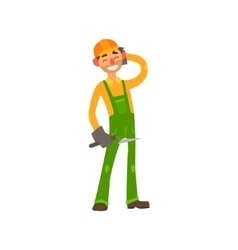 Profession Builder vector