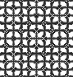 Seamless pattern from crosses Endless geometric vector image