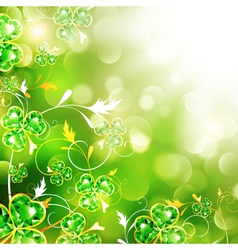 StPatrick holiday background vector