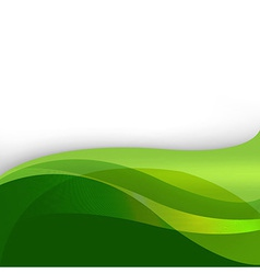 Green Nature Abstract Background vector image vector image