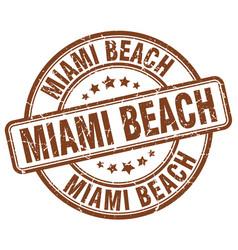 Miami beach vector