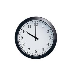wall clock set at 10 o clock vector image vector image