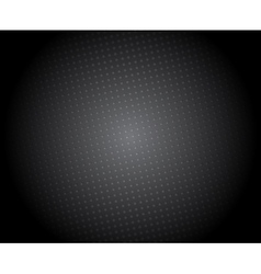 Abstract black background with halftone vector image