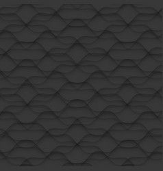 Black texture abstract pattern seamless floral vector