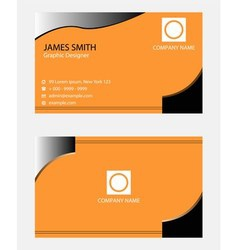 Business cards beautiful vector