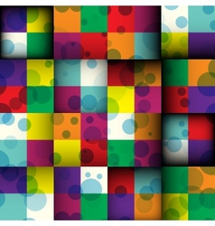 Abstract square seamless background vector image