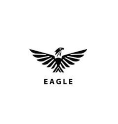 Eagl wings design logo vector