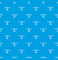 Military fighter plane pattern seamless blue vector