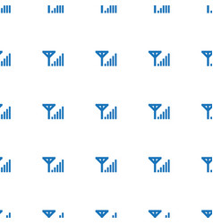 Mobile al icon pattern seamless white background vector