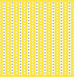 Seamless lovely pattern with small hearts vector