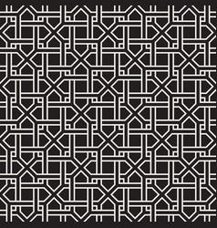 Seamless pattern modern abstract lattice vector