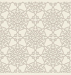 vintage lace texture seamless pattern vector image