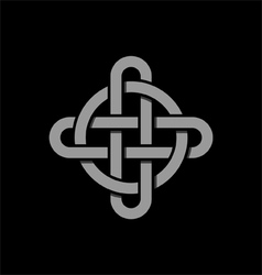 Celtic Knot vector image vector image