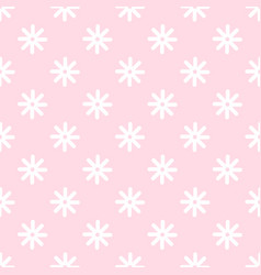 flower stitches seamless pattern geometric vector image