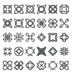 Abstract creative forms vector