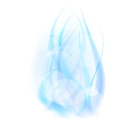 abstract energy flame vector image