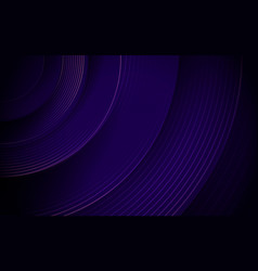 abstract purple circle line stripes background vector image