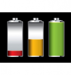 battery charge vector image