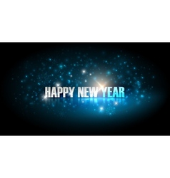 happy new year holiday background vector image