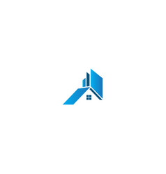 Home realty building business logo vector