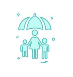 patient icon design vector image