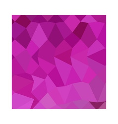 Persian Rose Pink Abstract Low Polygon Background vector